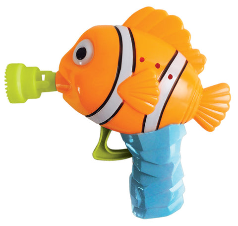 Kid Galaxy - Mr. Bubbles / Handheld Bubble Fish - Bubble Gun