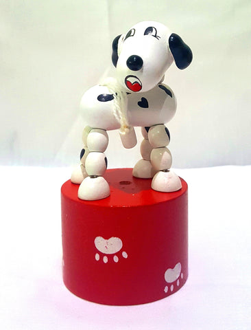 The Original Toys - Wooden Toys / Thumb Puppet Assortment - Dalmatian Dog