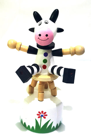 The Original Toys - Wooden Toys / Thumb Puppet Assortment - Cow