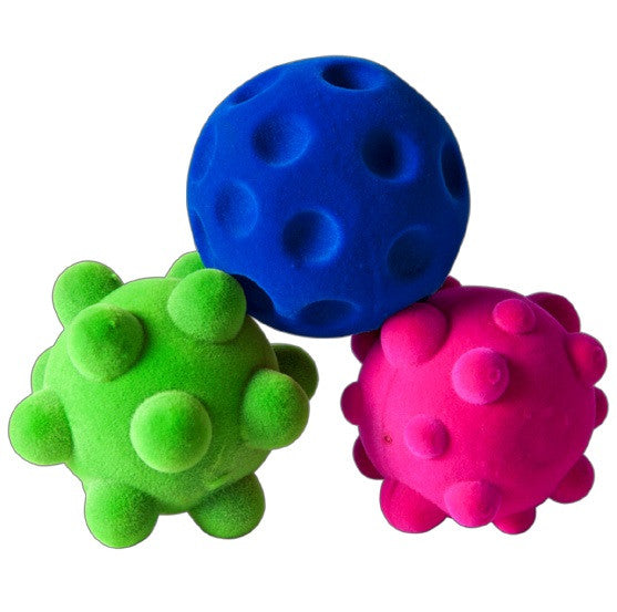 Rubbabu - Babies Balls / Natural Rubber Foam -Bubble Ball Green