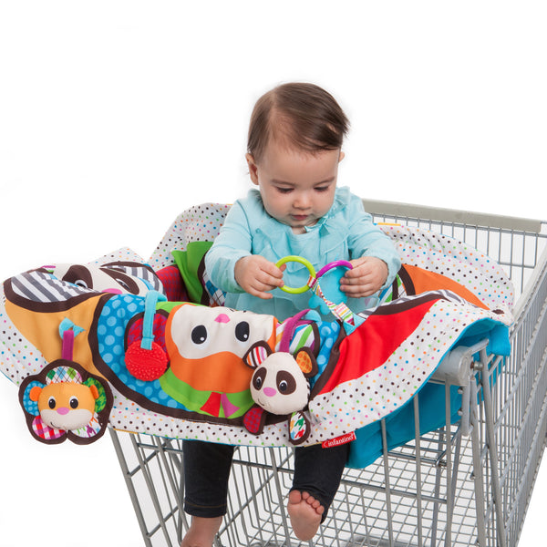 Infantino - Cart Cover & Play Mat - Play & Away