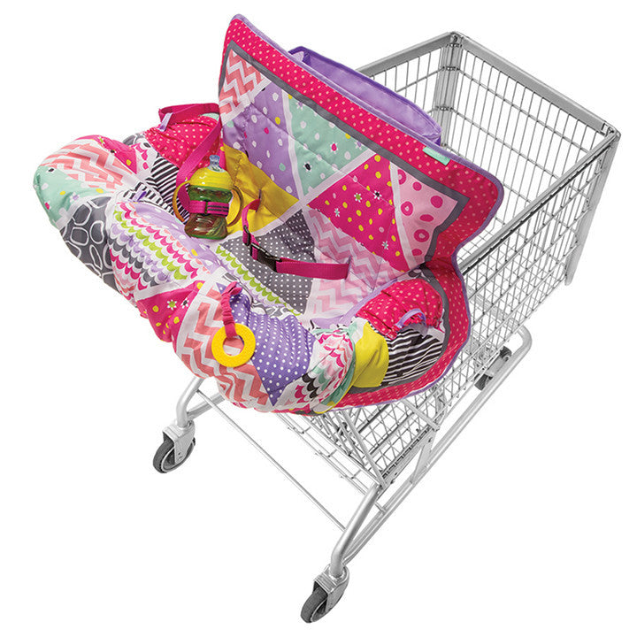 Infantino - Compact Cart Cover - Pink