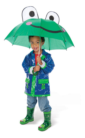 Toysmith - Children's Accessories / Kids Umbrella - Frog Umbrella