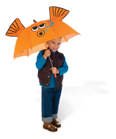 Toysmith - Children's Accessories / Kids Umbrella - Fish Umbrella