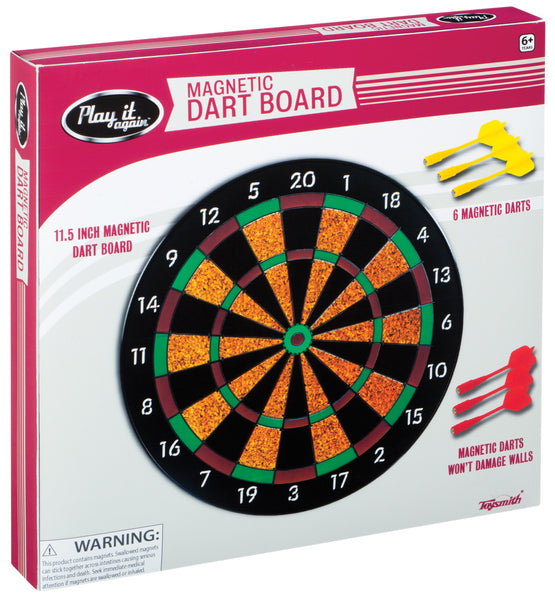 Toysmith - Children's Toys - Magnetic Dart Board