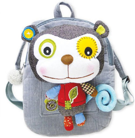 Eco Snoopers - Backpack / Removal Plush - Sam the Monkey