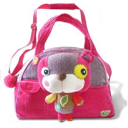 Eco Snoopers - Duffel Bag / Removal Plush - Smile a Lot Bear