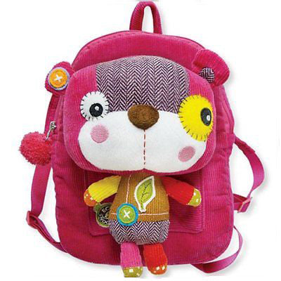 Eco Snoopers - Backpack / Removal Plush - Smile a Lot Bear