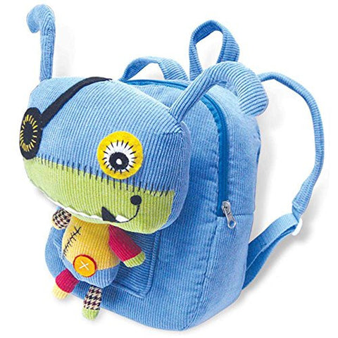 Eco Snoopers - Backpack / Removal Plush - Monster