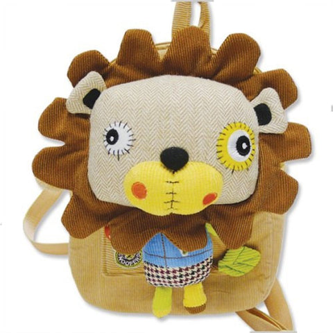 Eco Snoopers - Backpack / Removal Plush - Smog The Tog Lion
