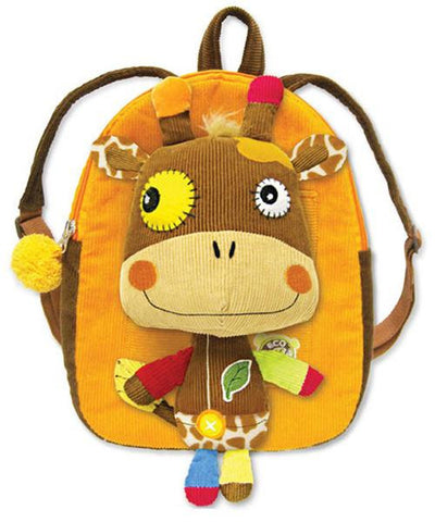 Eco Snoopers - Backpack / Removal Plush - Loop-de-Loo Giraffe
