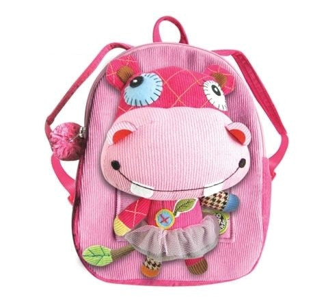 Eco Snoopers - Backpack / Removal Plush - HollyWood Hippo