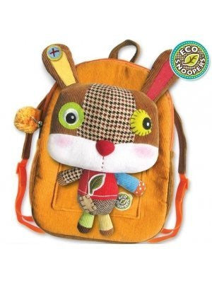Eco Snoopers - Backpack / Removal Plush - Rabbit