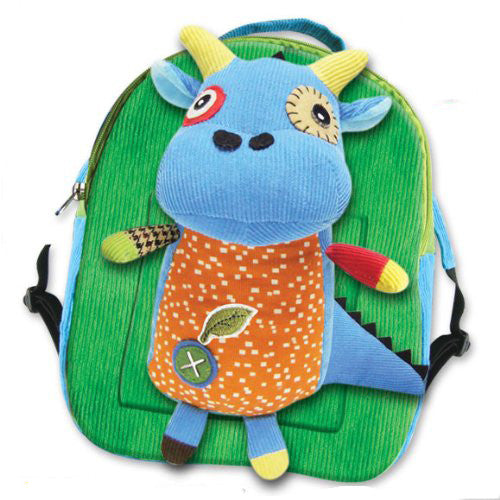 Eco Snoopers - Backpack / Removal Plush - Komodo The Dragon