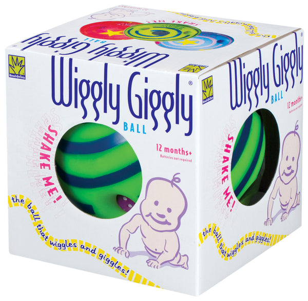 Toysmith - Baby Toys / Ball -  Wiggly Giggly Ball