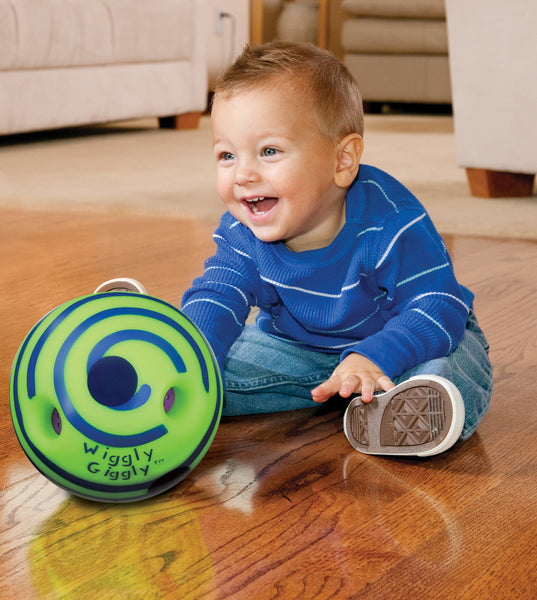 Toysmith - Baby Toys / Ball - Mini Wiggly Giggly Ball