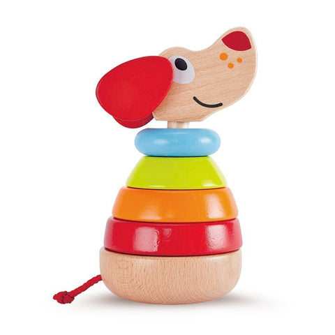 Hape - Wooden Toy - Pepe Sound Stacker