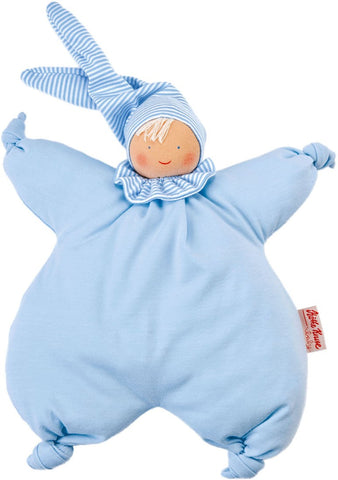 Kathe Kruse by Hape - Baby's Teddies - Organic Gugguli Light Blue Filled