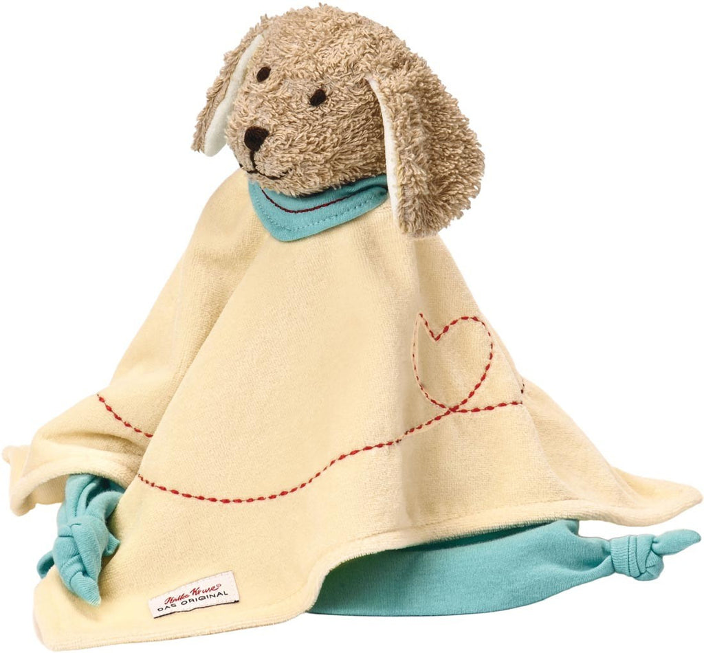 Kathe Kruse by Hape - Baby's Teddies / Towel - Dog Sammy Towel Doll