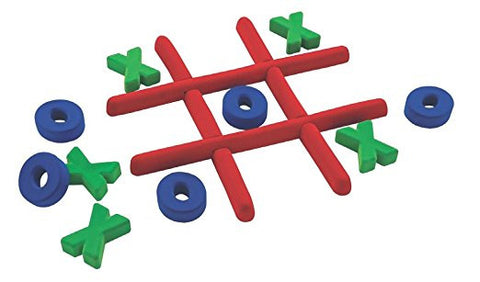 Rubbabu - Developmental Toys / Natural Rubber Foam - Tic Tac Toe