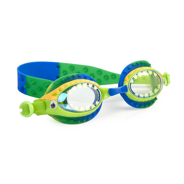 Bling2o - Swimming Goggles / Gooey Gator Swim Goggles - Ogre Green