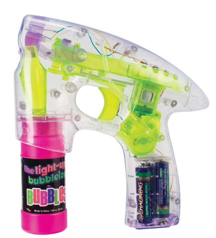 Toysmith - Children's Toys / Bubble Gun- Ligth Up Bubbleizer