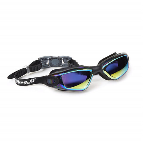 Bling2o - Swimming Goggles / Tint Swim Goggles - Black