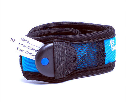 My Buddy Tag - Children's Accessories - Tag Blue Velcro (+ Buddy Tag)