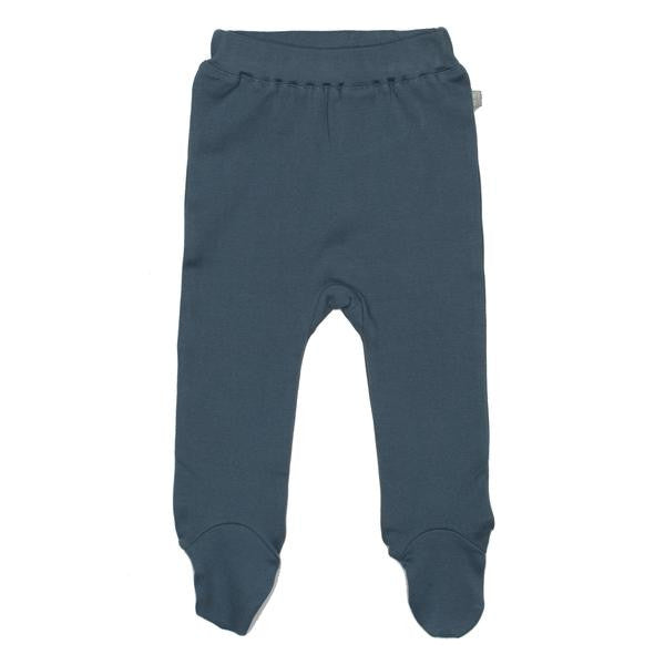 Finn Emma - Footed Pants - Blue Mirage