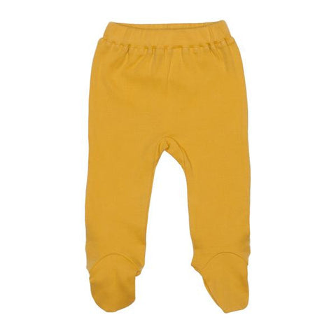 Finn Emma - Footed Pants - Golden
