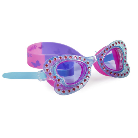 Bling2o - Swimming Goggles / Butterfly Swim Goggles - Monarch Blue