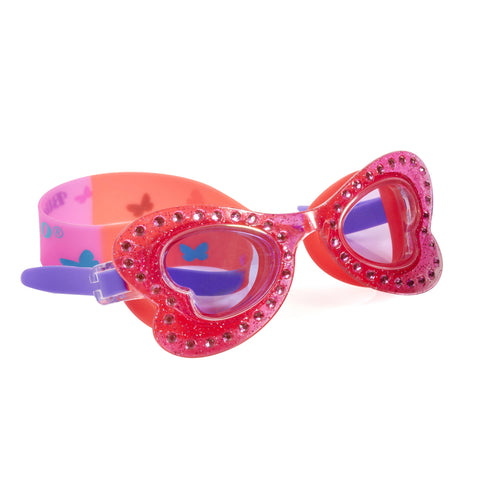 Bling2o - Swimming Goggles / Butterfly Swim Goggles - Skipper Coral