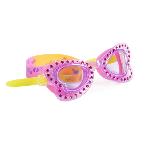 Bling2o - Swimming Goggles / Butterfly Swim Goggles - Wisteria Wing Purple
