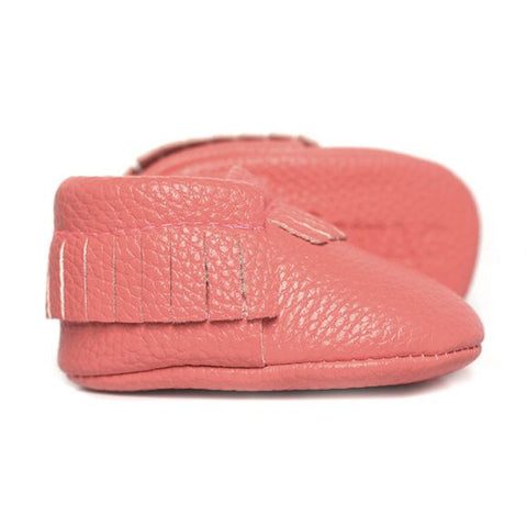 Sweet N Swag - Babies Shoes / Moccasins - Coral Capri