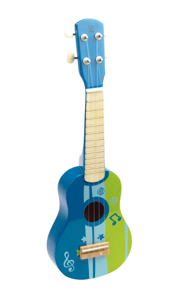 Hape - Wooden Toy - Ukelele in Blue