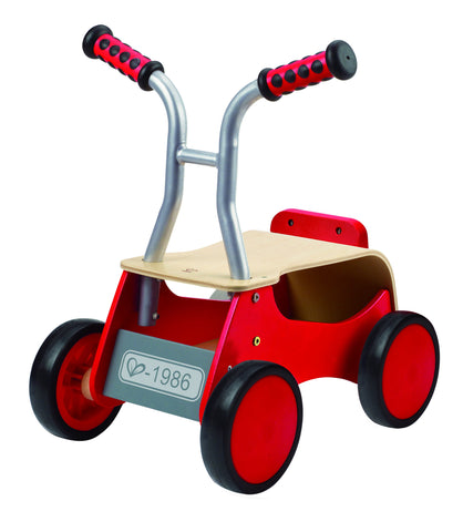 Hape - Wooden Kid's Ride on Bike - Little Red Rider