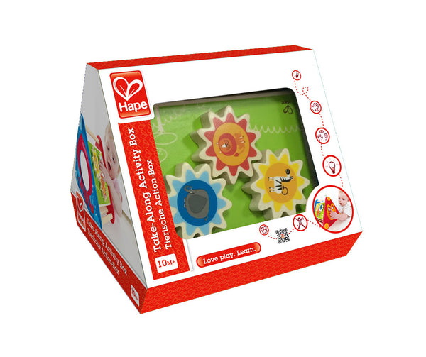 Hape - Wooden Toy - Take-Along Activity Box