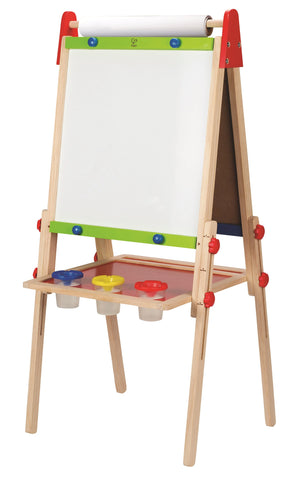 Hape - Wooden Toy - All-in-One Kid's Art Easel