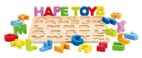 Hape - Wooden Learning Puzzle / Alphabet Puzzle