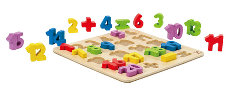 Hape - Wooden Learning Puzzle - Number Puzzle