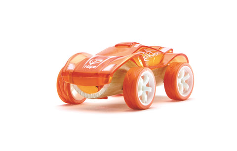 Hape - Toy Car / Twin Turbo / Monster Truck / Hot Rod / Baja - Bamboo Kid's Toy Car