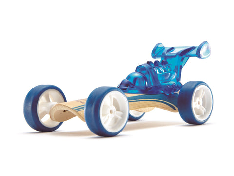 Hape - Toy Car / Dragster / Racer / Trailblazer / Beach Buggy - Bamboo Kid's Toy Car