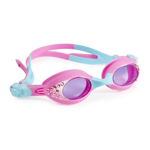 Bling2o - Swimming Goggles / Fresh Glow Girl - Rose Pink Blue