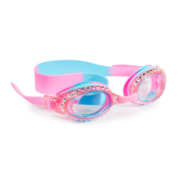 Bling2o - Swimming Goggles / New Glitter Classic Kids Swim - Peppermint Pat Pink
