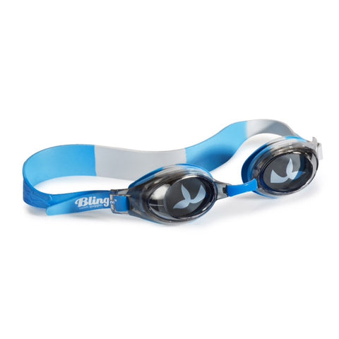 Bling2o - Swimming Goggles / Merman - Oyster Blue