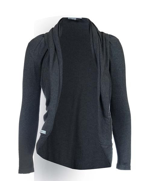 Multiwear - Mom's Tops - Cardimom Charcoal Grey