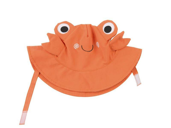 Zoocchini - Baby Accesories / Swimwear - Swim Diaper & Sun Hat Set Crab