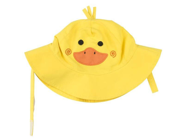 Zoocchini - Baby Accesories / Swimwear - Swim Diaper & Sun Hat Set Duck