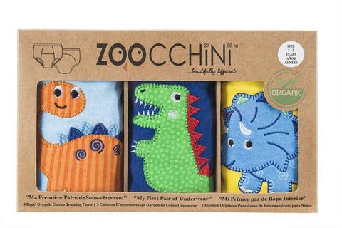 Zoocchini - Boys Accessories / Underwear - Pants Set Jurassic Pals