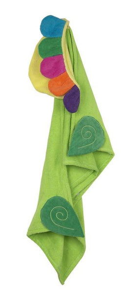 Zoocchini - Girls Accessories / Towel - Flora The Flower Hooded Towel
